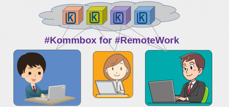 Kommbox for Remote Work