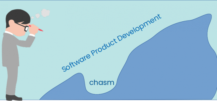 Crossing The Software Product Development Chasm